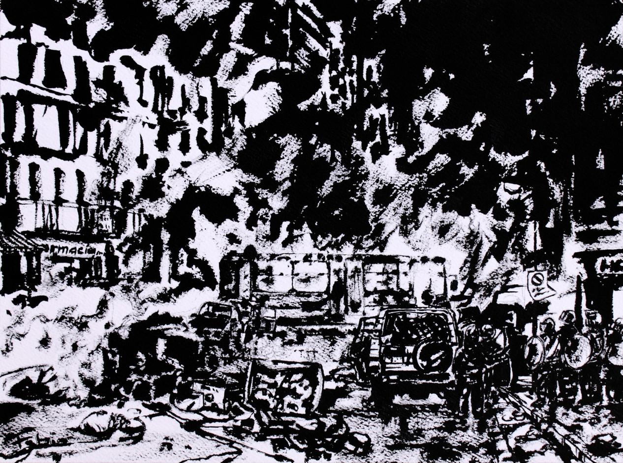 Napoli - Riots