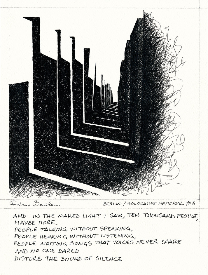 Berlin _ Holocaust Memorial #3