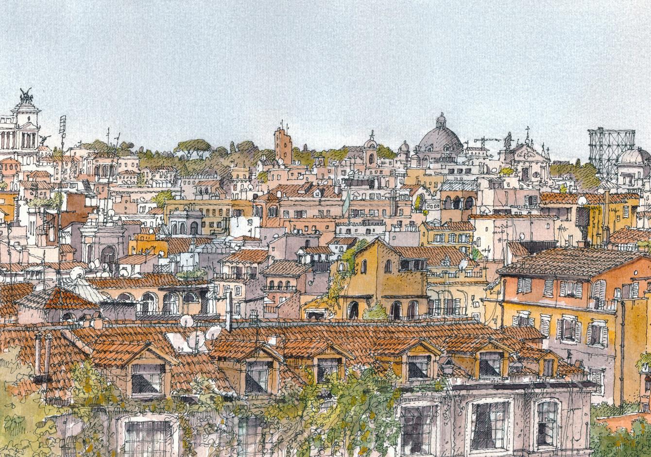Roma _ Skyline - detail
