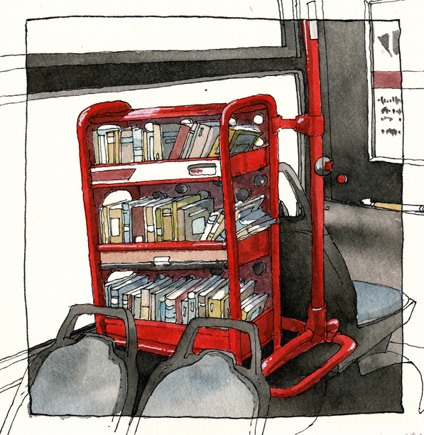 Hamburg _ Bus Library #2