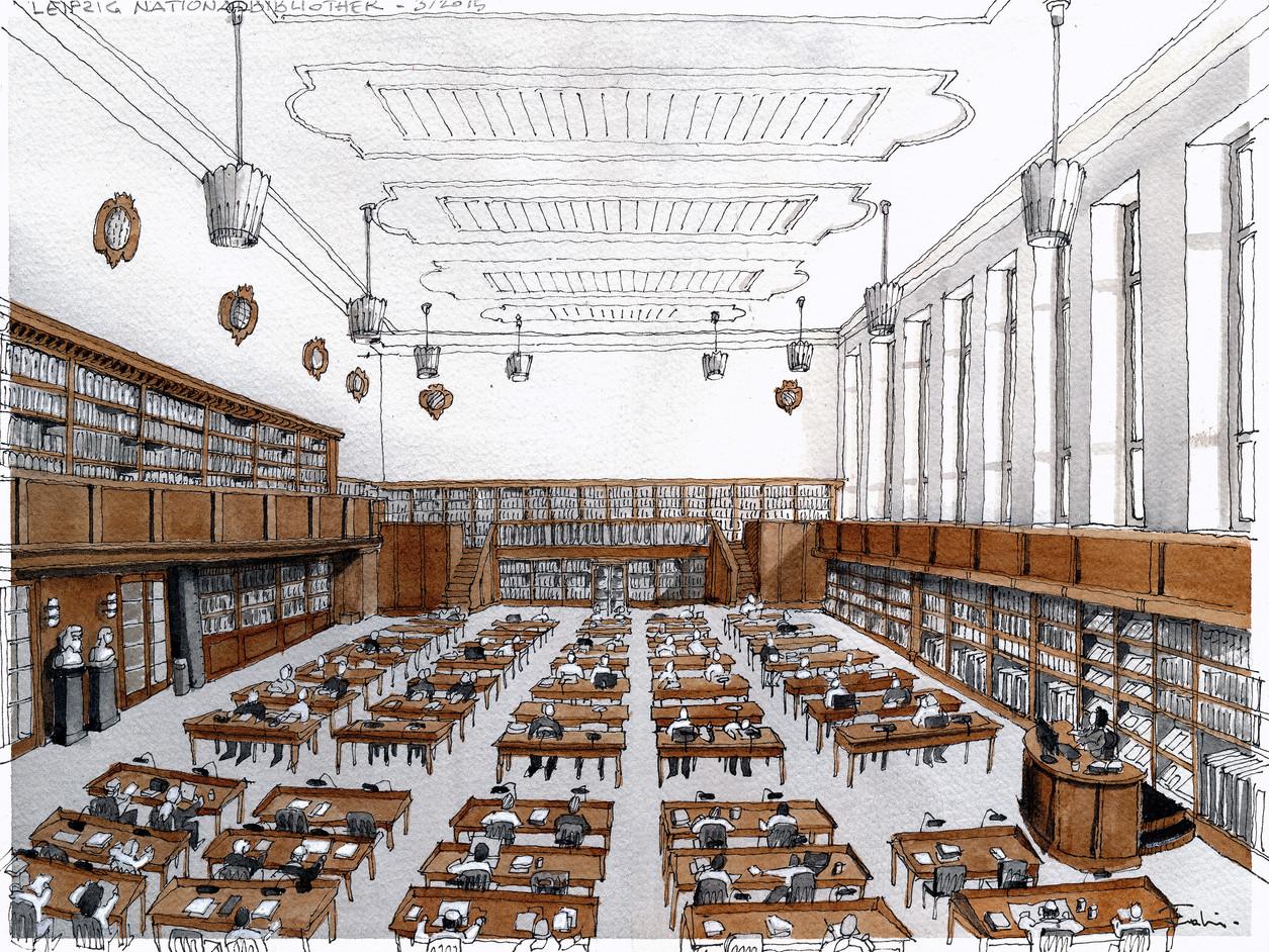 Leipzig - Nationalbibliothek #2