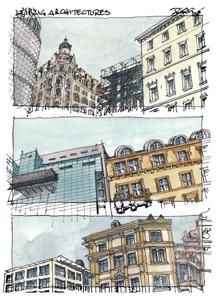 Leipzig - Architectures