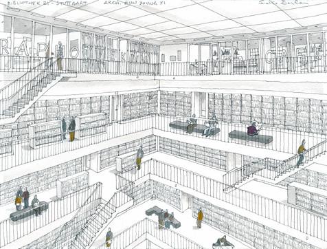Stuttgart _ Bibliothek21 #1