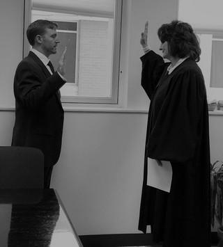 Will Gieske Swearing In Ceremony
