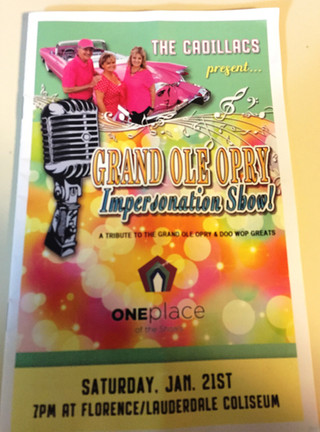 Grand Ole Opry Impersonation Show benefitting One Place