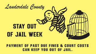 STAY OUT OF JAIL Week - Oct. 23rd-31st