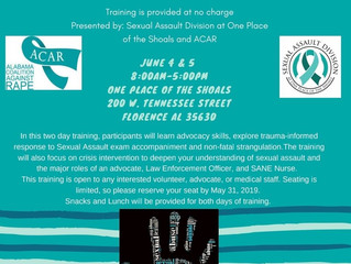 Response Training Event June 4th & 5th