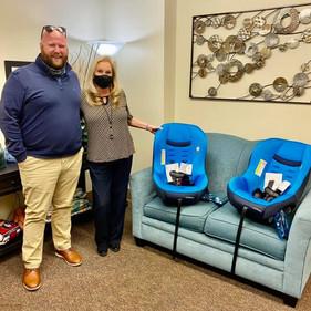 Car Seats Donated