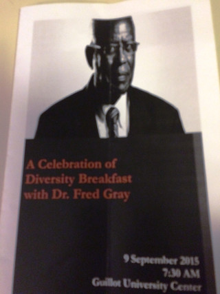 Fred Gray at UNA - Week of September 7