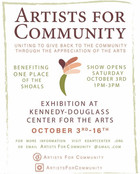 Art to Benefit One Place of the Shoals