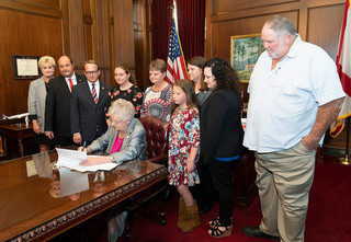 Bill Signing & Parole Hearings