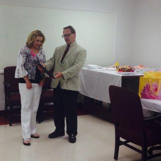 Alisha Brown's 20th Anniversary Reception