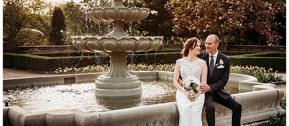 Hamilton Wedding Photographer - An intimate spring wedding at the Royal Botanical Gardens