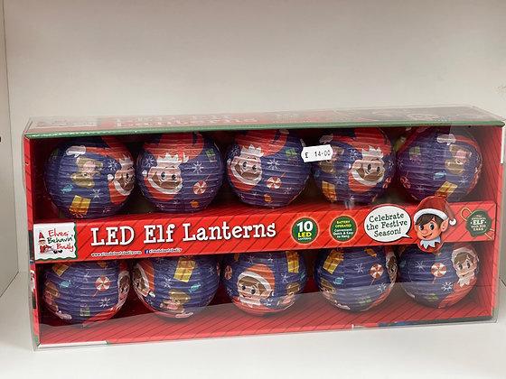 10 LED Elf Lanterns