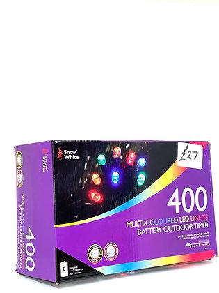 400 Muti-Coloured LED Lights