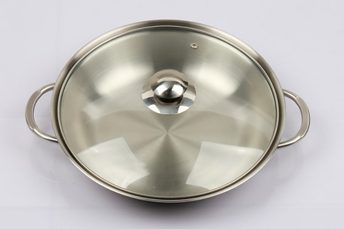 Stainless Steel 3-layer Pot [감자탕 냄비]
