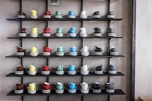 ACME Espresso Range(1Set : 6ea*Cup & 6ea*Saucer)