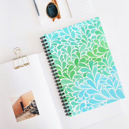 Copy of Copy of Spiral Notebook - Ruled Line