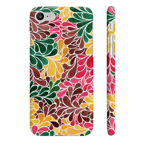 Autumn Teardrops Slim Phone Cases (iPhone 7, iPhone 8 Slim)