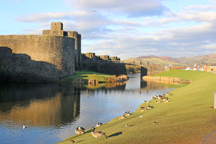 Caerphilly Castle, Wales.jpg
