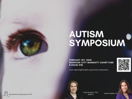Autism Symposium is sold out!