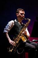 Thomas Johnson, Ministry of Fear, Graham Greene, Theatre Alibi, saxophone