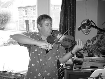 Thomas Johnson, violin