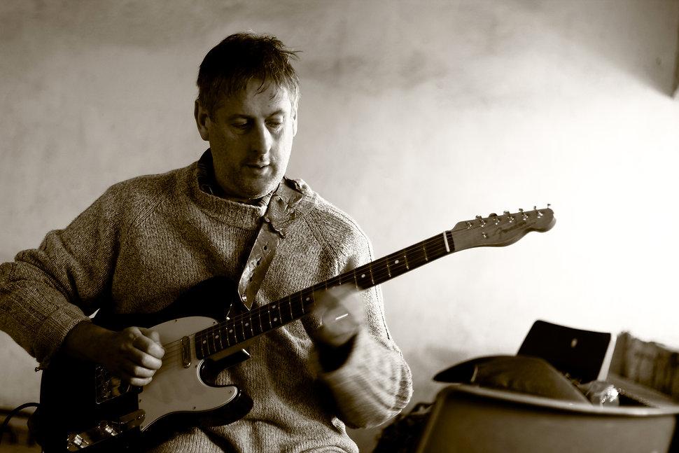 Thomas Johnson, electric guitar, Fender Telecaster