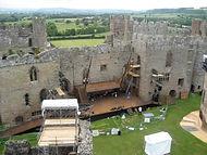 Thomas Johnson, Richard III, Shakespeare, Ludlow Castle