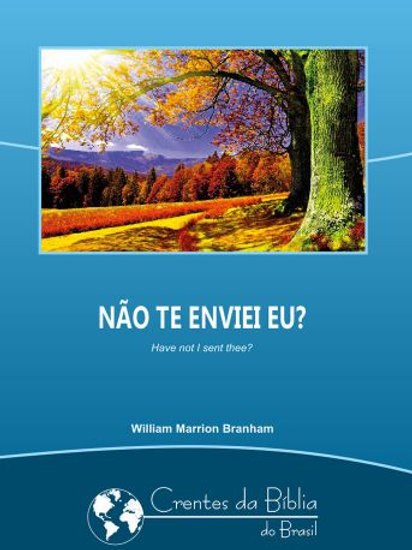 Livro - Mensagem Não Te Enviei Eu 62-0124 -  William Branham