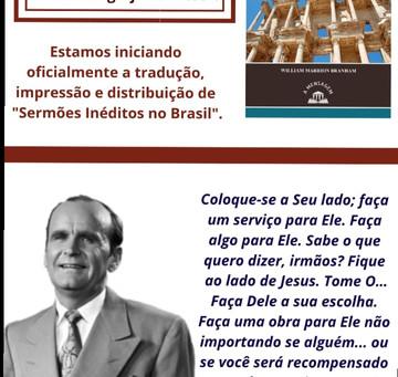 Sermões Impressos pela Editora A Mensagem
