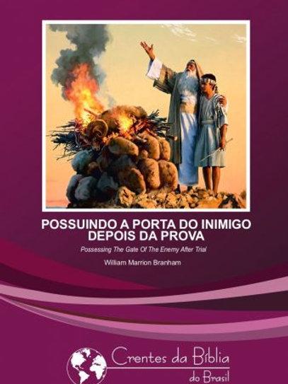 Livro - Mensagem Possuindo a Porta do Inimigo depois da Prova 64-0322 - Branham