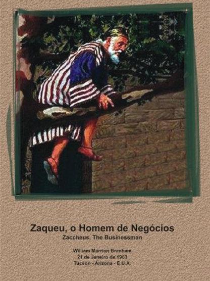 Livro - Mensagens Zaqueu, o Homem de Negócios 63-0121 - Branham