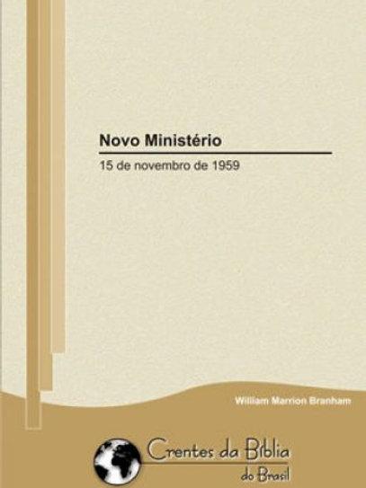 Livro - Mensagens Novo Ministério 59-1115 - Branham