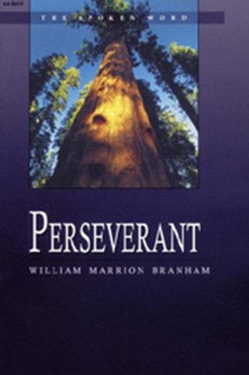Livro - Mensagem Perseverante 64-0619 - Branham