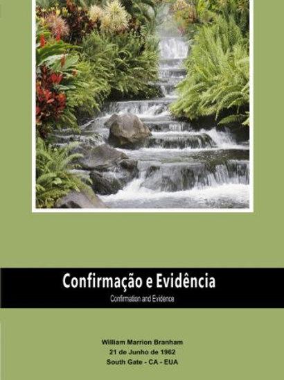 Livro - Mensagem Confirmação e Evidência 62-0621 - Branham