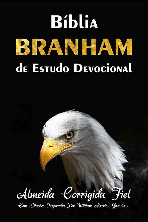 Bíblia Branham de Estudo Devocional Capa Brochura - Águia
