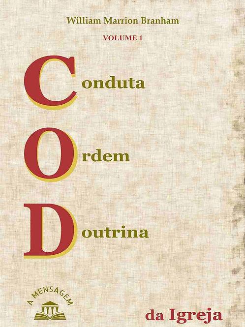 Livro - Vol 1 Conduta, Ordem, Doutrina da Igreja por William Marrion Branham