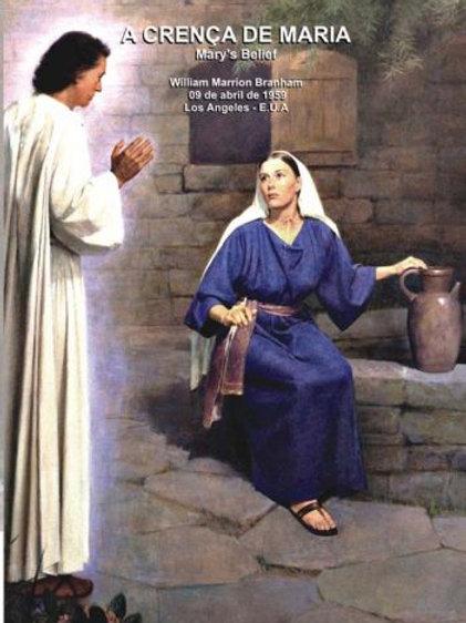 Livro - Mensagem A Crença de Maria - William Marrion Branham
