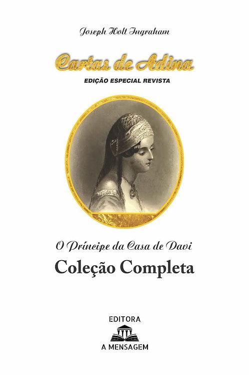 Livro - O Príncipe da Casa de Davi (Cartas de Adina) Coleção Completa - Brochura