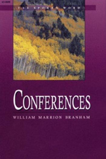 Livro - Mensagem Conferências 63-0608 - Branham