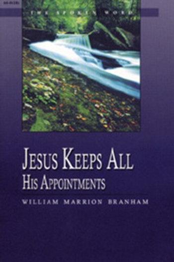 Livro - Mensagem Jesus Cumpre Todos os Seus Compromissos 64-0418E  - Branham