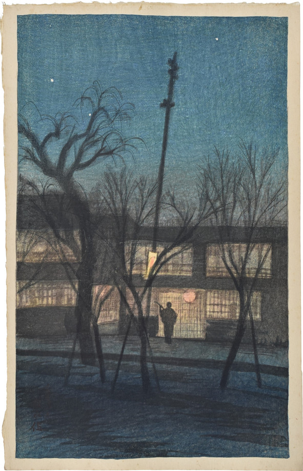 Minstrel at Ikenohata
