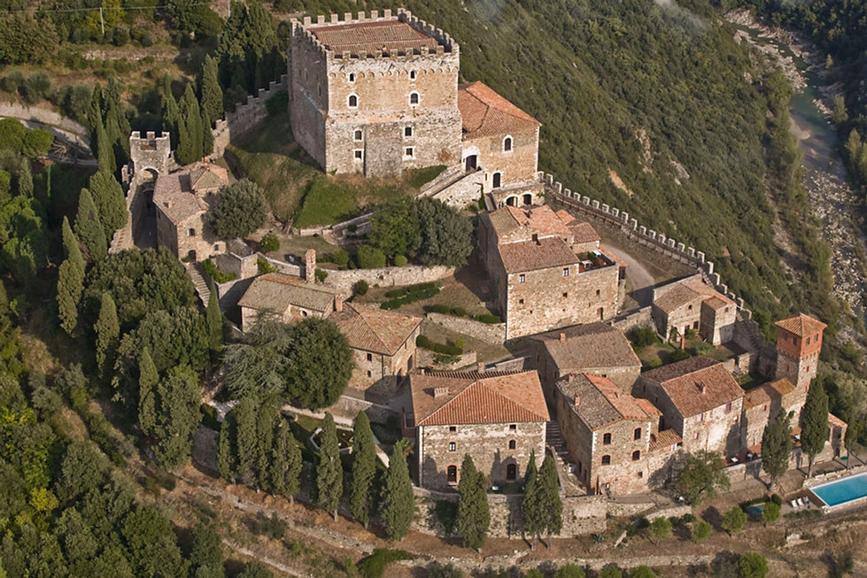 Castello d Ripa d'Orcia