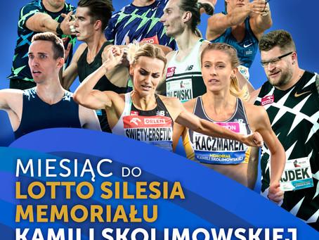 Dokładnie za miesiąc wielkie lekkoatletyczne święto na Stadionie Śląskim!