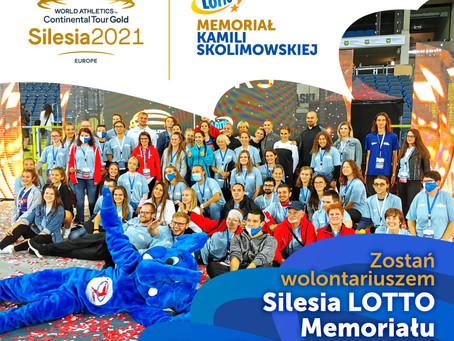 Zostań wolontariuszem podczas Silesia LOTTO Memoriału K. Skolimowskiej!