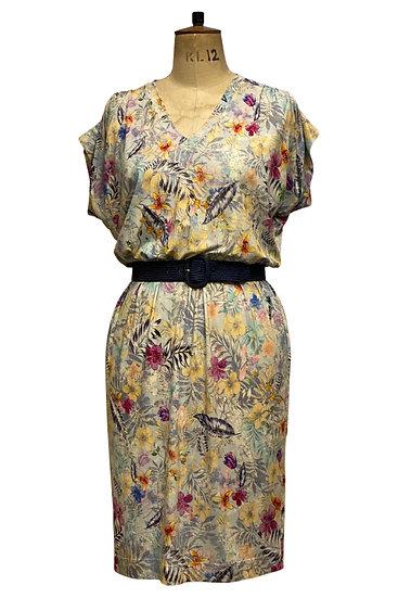 Jersey Print Dress