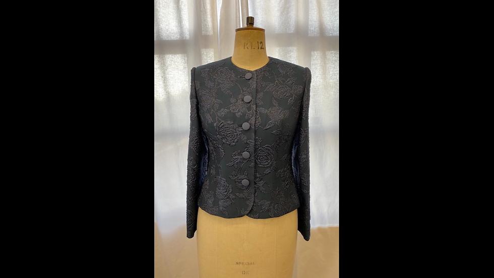 Black Brocade Jacket