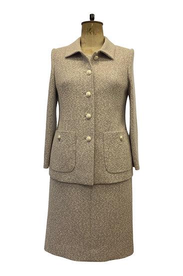 Glitter Tweed Jacket and Dress