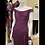 Thumbnail: Purple Georgette Evening Gown